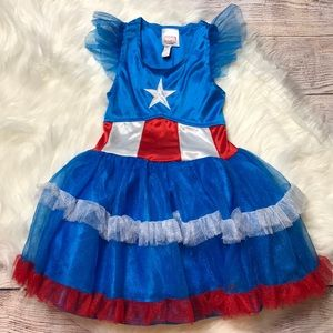 🐳3/20 MARVEL SUPERHERO COSTUME TUTU DRESS 4/5
